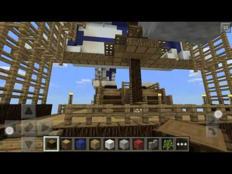 Minecraft Pocket Edition Pirate Ship