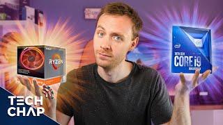 Best CPU for Gaming & Editing? (Intel i9 10900K vs AMD Ryzen 3900X) | The Tech Chap