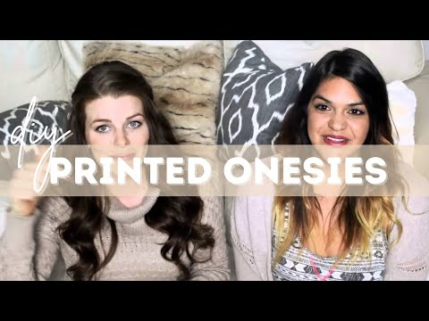 DIY Printed Onesies | Easy & Affordable |  loverslane29