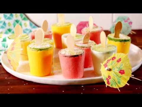Margarita Pops | Delish