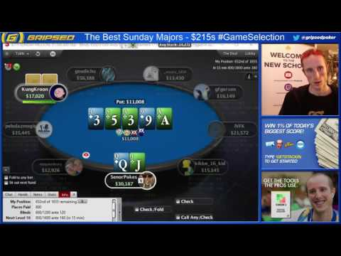 Bluff vs Bluff in the Sunday Million #TwitchPoker (Twitch Poker Stream Highlights)
