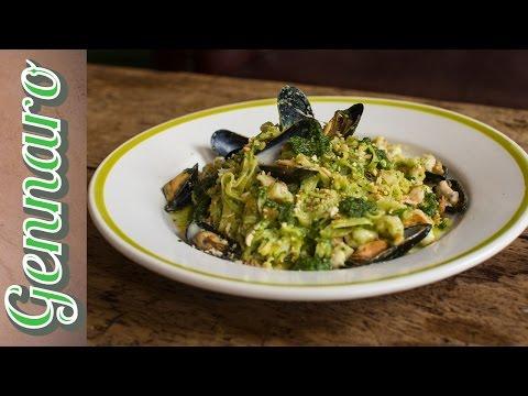 Seafood Pasta & Almond Pesto | Gennaro Contaldo
