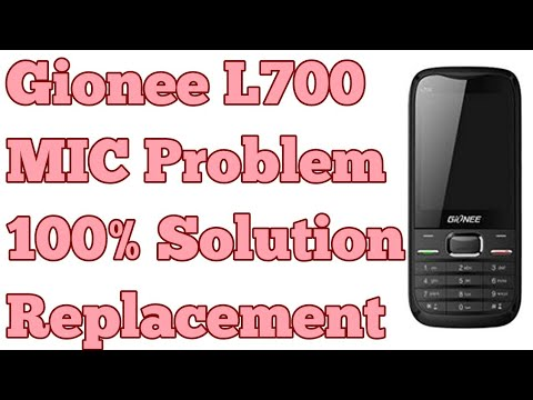 Gionee L700 Mic Problem 100% Solution/Replacement
