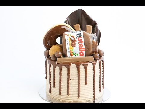 Loaded Nutella Sponge Cake- Rosie's Dessert Spot