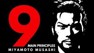 MIYAMOTO MUSASHI # 9 Main Principles ❖ 9 Rules of Life |