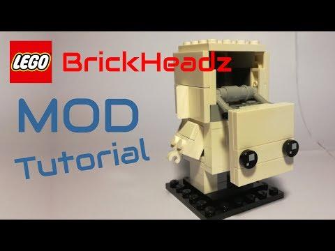 Tutorial - LEGO MOD - BrickHeadz 41597 Go Brick Me