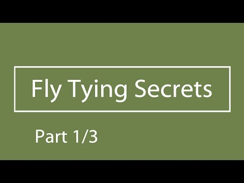 How to Do a One-Finger Whip Finish (Fly Tying Secret)