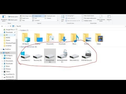 How to change hard disk drives icon to show used  and free space