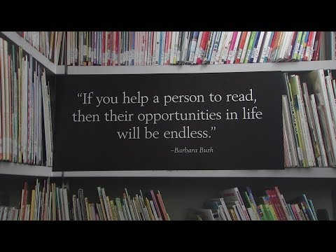 Legacy of promoting literacy from the @BarbaraBushFdn