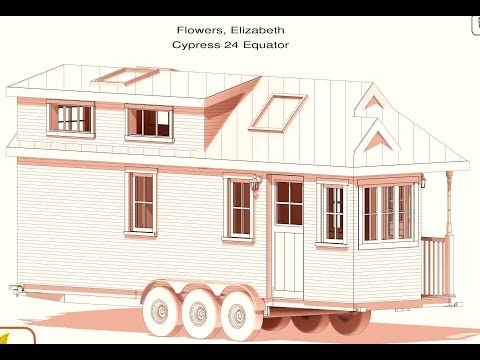 Tumbleweed Tiny House Plans Cypress 24 | ❁ | Lizzy Flowers