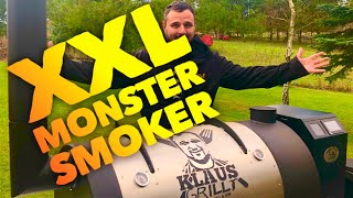Mein neuer XXL MONSTER PELLETSMOKER Smoker Dream —- Klaus grillt