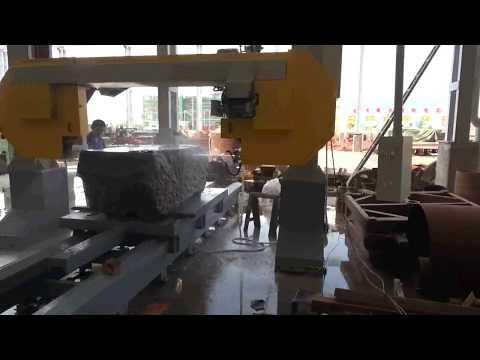 THIN SLAB CUTTING MACHINE, band saw cutting machine