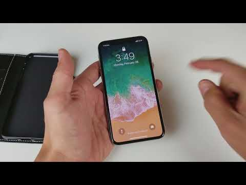 iPhone X: How to Turn on Camera from Lock Screen