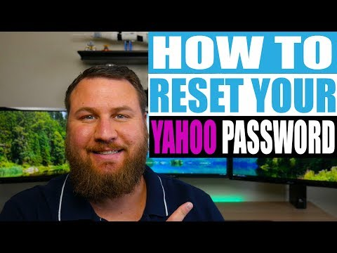How to Reset your Yahoo Email Password 2018