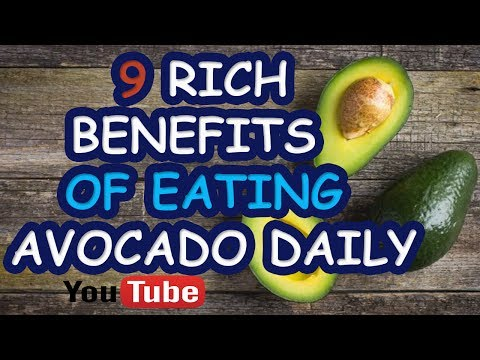 Benefits Of Eating Avocado Daily - How many calories in an avocado ?