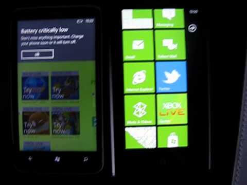 Retrospaced loading time comparison - HTC Trophy vs Omnia 7