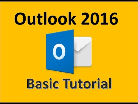 Outlook 2016 - Tutorial for Beginners - 2017 How To Use Microsoft Outlook on Office 365 Windows 10