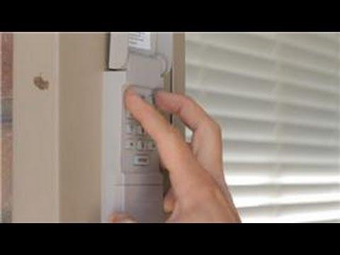 Garage Door Help : How to Program a Garage Door Keypad