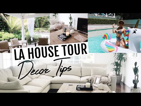 My Hollywood Hills House Tour// Decor + Budget Tips!
