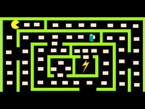 Making Games in Scratch - PacMan - Part 5: Adding dots to the maze