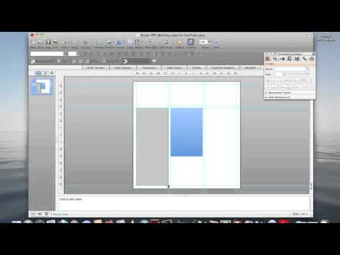 PPT Functions for Creating a Research Poster(2)_Shapes, text boxes, images