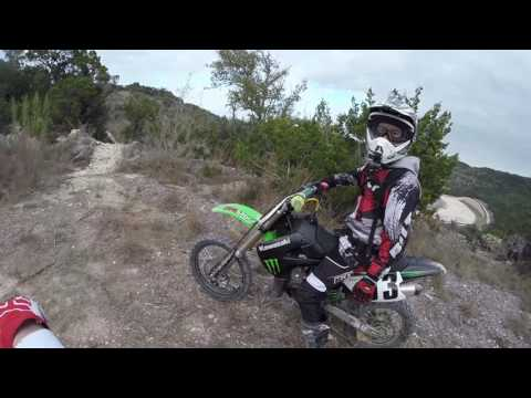 Riding Pit Bikes On Mountain Bike Trails