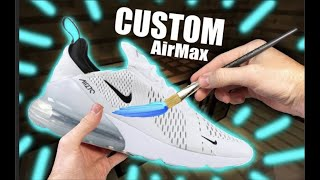 Custom AIR MAX 270's !! - Jordan Vincent