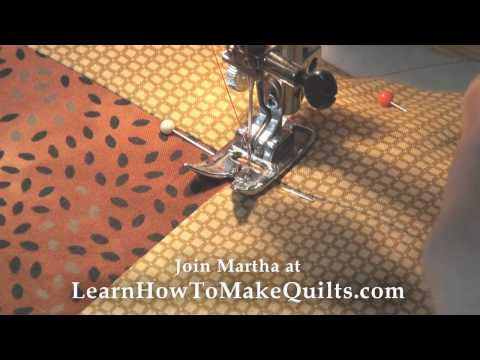 How to Quilt:  Machine quilt, Hand Quilt, or Tie your Layers Together