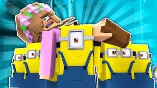 THE MINIONS BETRAY LITTLE KELLY! Minecraft Little Kelly (Custom Minigame)