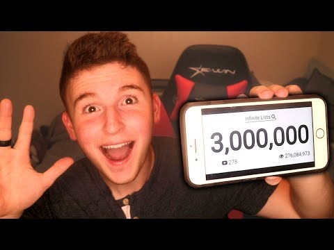 REACTING TO 3 MILLION SUBSCRIBERS!