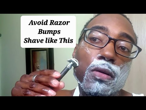 Shaving tips - Shaving to avoid razor bumps