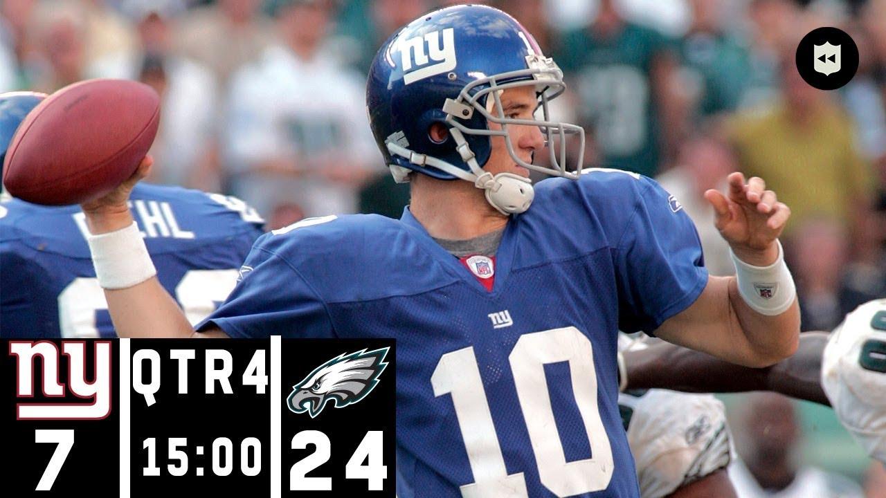 Giants vs. Eagles: A Classic NFC East 4th Quarter Comeback | NFL Throwback