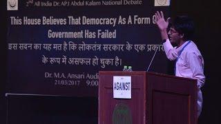 Hindi Debate on Democracy (Loktantra): Laxman Bishnoi Lakshya