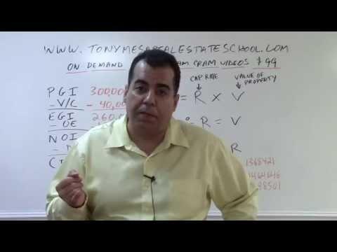 Florida Real Estate Exam Prep Math 12: Capitalization Rates Explained