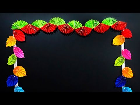 How to Make Diy Paper Garland | Diy Door Hanging Decoration