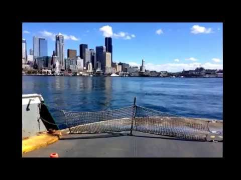 Seattle Ferry from Bainbridge.
