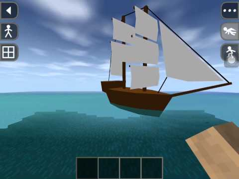 Survivalcraft - Chasing After the Boat