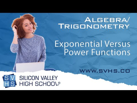 Exponential Versus Power Functions