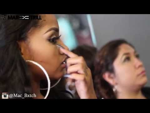 Mac_Bxtch MakeUp Class | Houston,Tx | @6BillionPeople