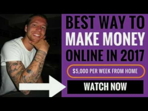 Best Way To Make Money Online Fast in 2018 Without Experience - Earn $5,000 Per Week From Home