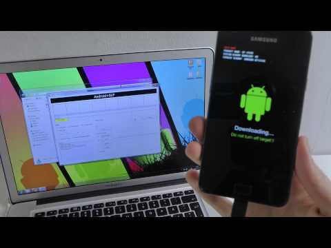 Install Official Android 4.1.2 Galaxy S2 Tutorial