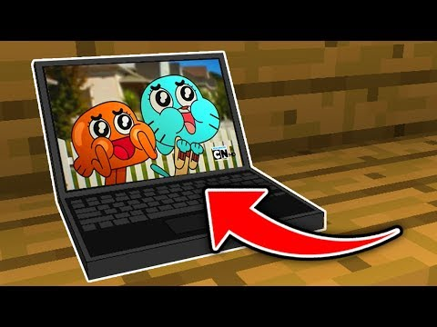 Minecraft  : How To Make A WORKING Laptop (NO MODS!) (Ps3/Xbox360/PS4/XboxOne/WiiU)