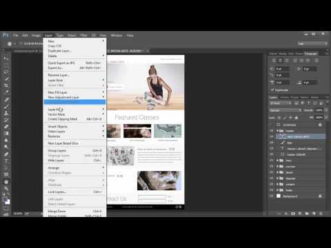 responsive web mockups in photoshop cc part1