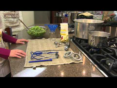 Canning Green Beans with Ball Canning