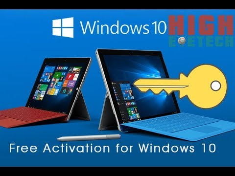 Activate Any Edition of Windows 10 without product key. 2017 for Free