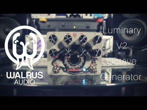 Walrus Audio   Luminary V2 Octave Generator   Funky AND Dreamy!