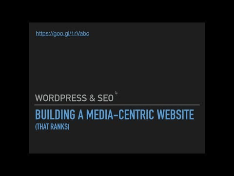 March 2018 - Building a Media-Centric Website