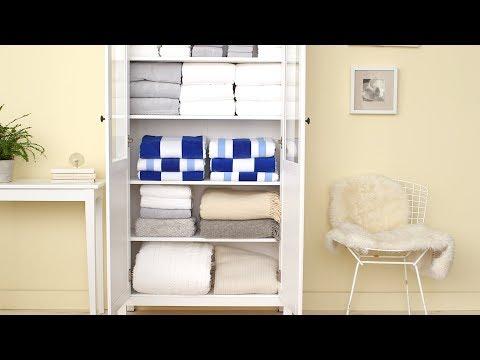 How To Organize A Linen Closet- Martha Stewart