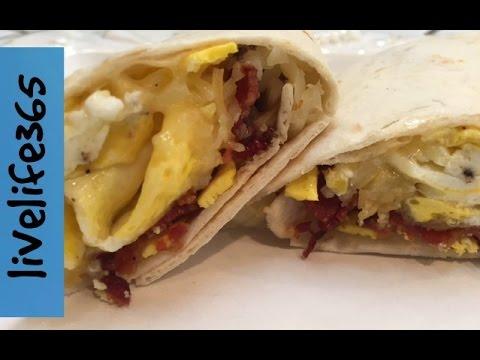 How to...Make a Killer Bacon & Egg Burrito