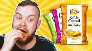 Irish People Try American Lay's Chips